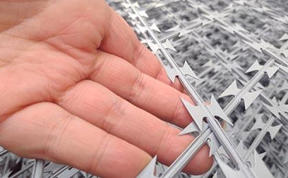 刀片刺网隔离网