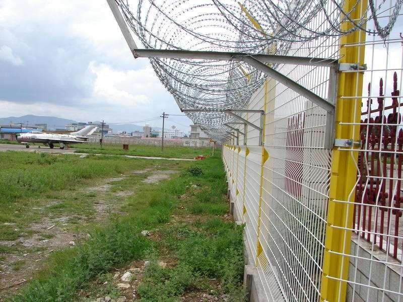 焊接机场围界网