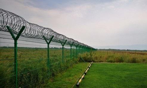 管道输油站隔离围网